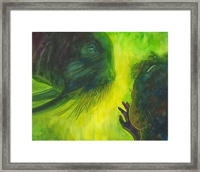 The Walrus Framed Print