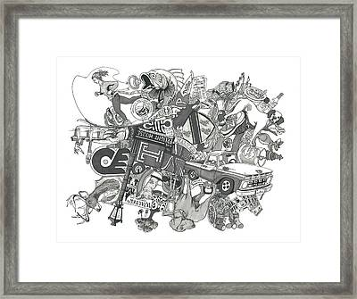 The Walters At 6 Framed Print by Tyler Auman