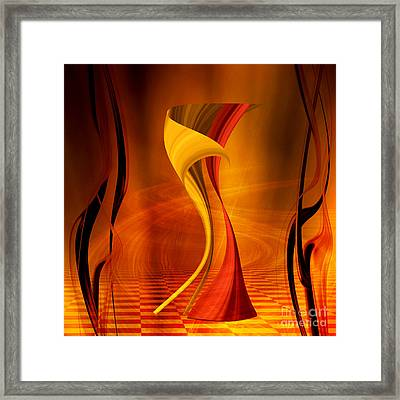 The Waltz Framed Print