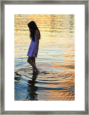 The Wanderer Framed Print by Laura Fasulo