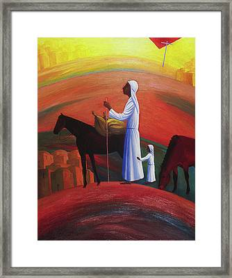 The Wandering Mary Magdalene Framed Print