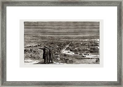 The War Between Serbia And Bulgaria The Re-occupation Framed Print by Litz Collection