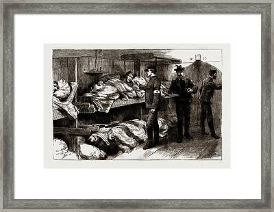 The War Between Serbia And Bulgaria With The Knights Framed Print by Litz Collection