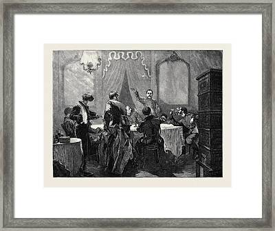 The War In The East Shakespeare And The Russians A Sketch Framed Print
