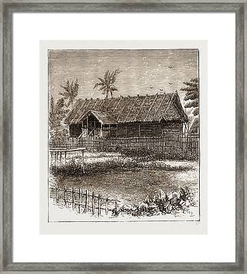 The War In The Malay Peninsula, 1876 Temporary Residency Framed Print