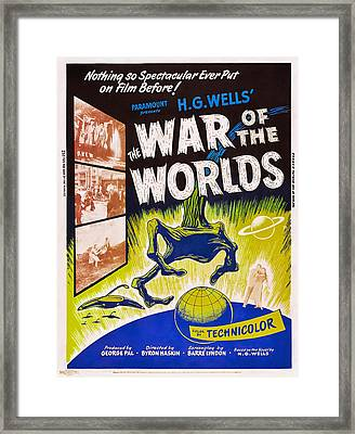 The War Of The Worlds, Poster Art, 1953 Framed Print