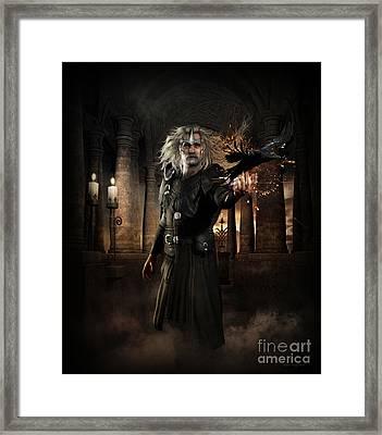 The Warlock Framed Print