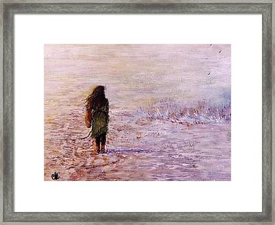 The Warm Inside My Soul.. Framed Print