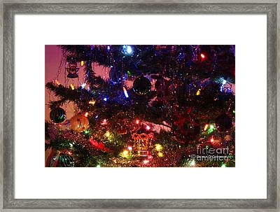 The Warmth Of Christmas Framed Print