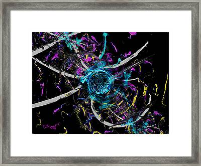 The Warp In The West Framed Print by Thomas Bryant