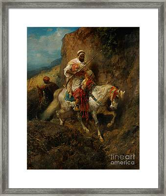 The Warriors Framed Print by Celestial Images