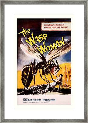 The Wasp Woman 1959 Framed Print