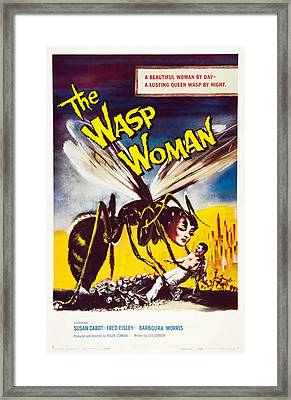 The Wasp Woman, Susan Cabot, 1959 Framed Print