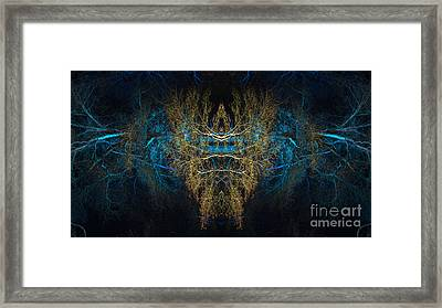 The Watcher Framed Print by Tim Gainey