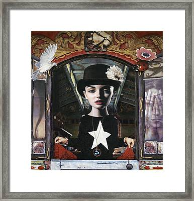 The Watcher Framed Print by Vic Lee