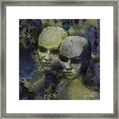 The Watchers Framed Print by Ursula Freer