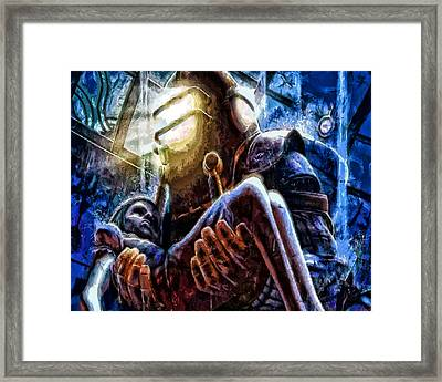The Watchful Protector Framed Print