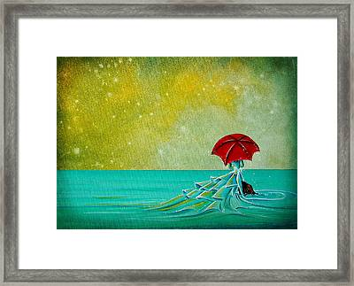 The Watchful Seas Framed Print