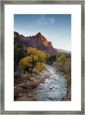 The Watchman Framed Print by Andrew Soundarajan