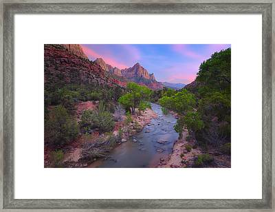 The Watchman Framed Print by Giovanni Allievi