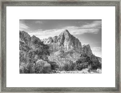 The Watchman Framed Print by Jeff Cook