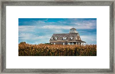 The Watchmans Post Framed Print by Chris Modlin