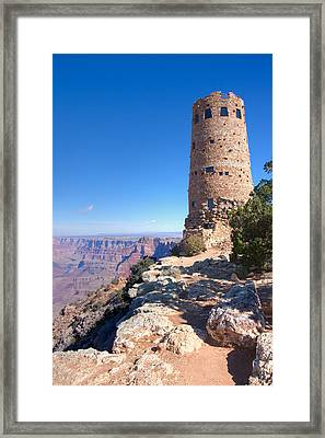 The Watchtower Framed Print by John M Bailey