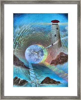 The Watchtower Framed Print by Tom Druin