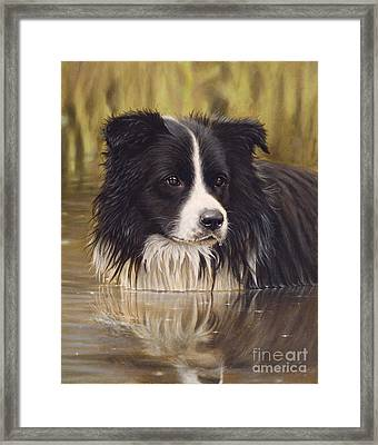 The Water Baby Framed Print by John Silver