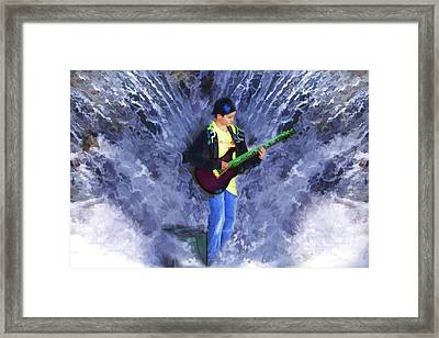 The Water Gig Framed Print by Cathy  Beharriell