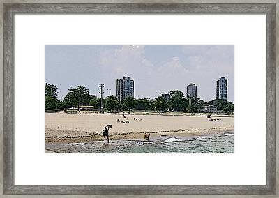 Framed Print featuring the photograph The Water Is Mesmerizing by Skyler Tipton