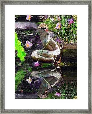 The Water Maiden Framed Print
