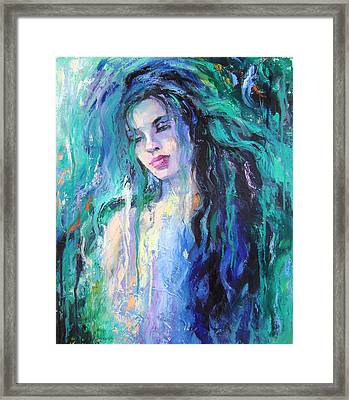 The Water Framed Print