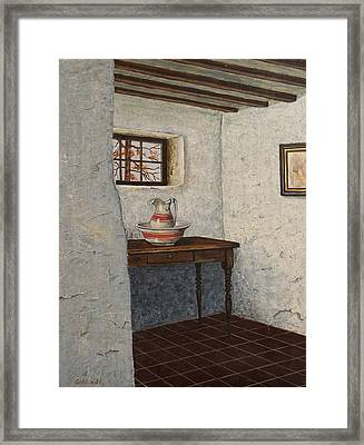 The Water Pitcher Framed Print