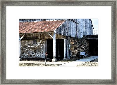 The Water Pump Framed Print