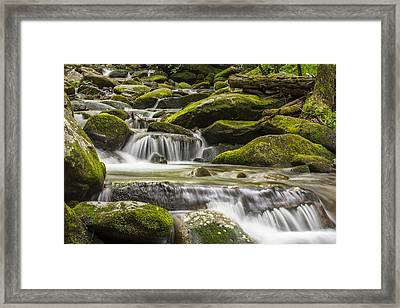 The Water Will Framed Print