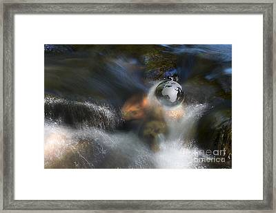 The Water World Framed Print by Tim Gainey