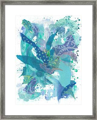 The Wateree Framed Print by Heather Moore