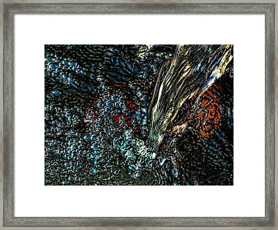 The Waterfall Of Enlightenment Framed Print
