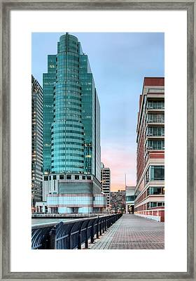 The Waterfront Framed Print by JC Findley