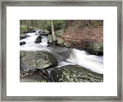 The Watering Place Framed Print by Richard Reeve