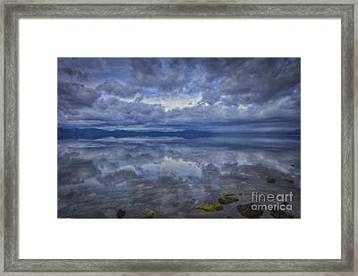 The Waters Beneath Framed Print