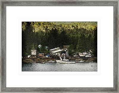 The Waters Edge Framed Print by Davina Washington
