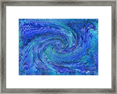 The Wave Framed Print by Carol Groenen