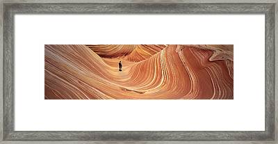 The Wave Coyote Buttes Pariah Canyon Framed Print
