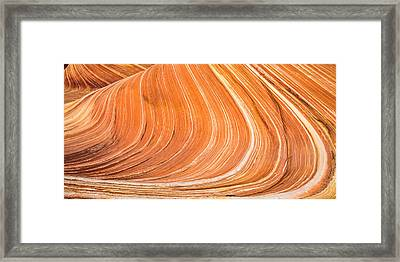 The Wave II Framed Print by Chad Dutson