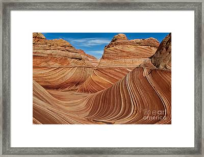 The  Wave Framed Print by Jerry Fornarotto