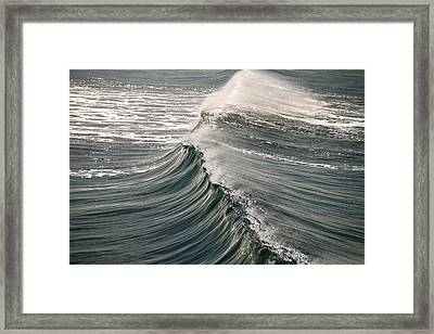 The Wave Framed Print by John Babis