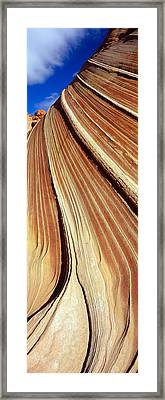 The Wave, Navajo Sandstone Formation Framed Print by Panoramic Images
