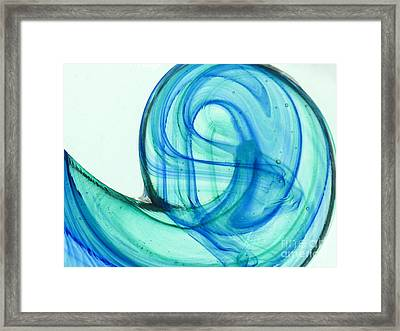The Wave Framed Print by Ranjini Kandasamy